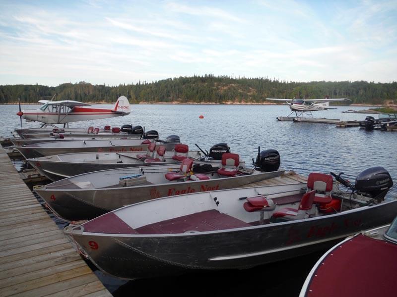 Boat & Gear - Eagle Nest Resorts - Fishing Resort